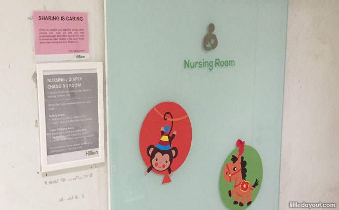 Hillion Nursing Room