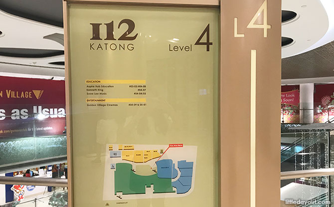 I12 Katong Nursing Room