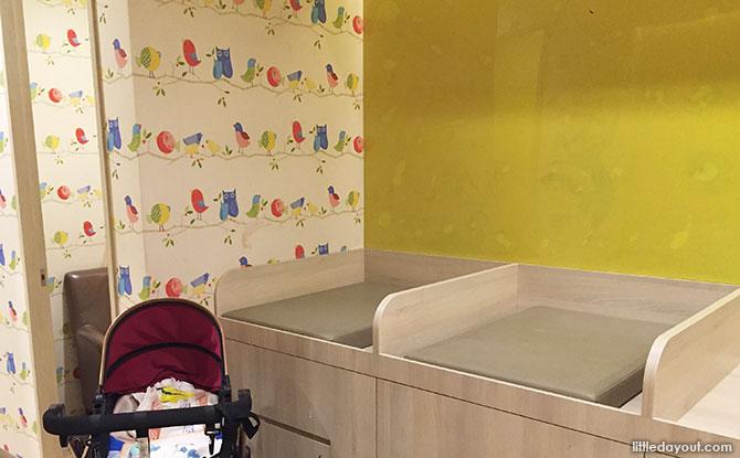 IMM Nursing Room Baby Care Room
