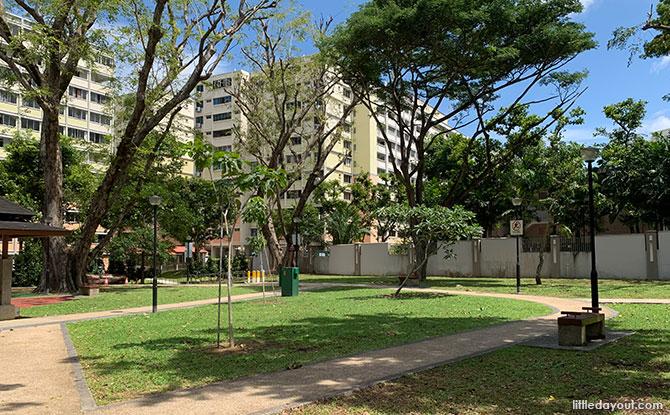 Greenery at the Jalan Pelatok Park & Open Space