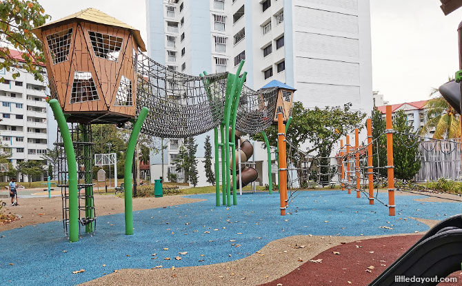 Jurong East St 32 Playground: Nets & Webs Fit For Spiderman