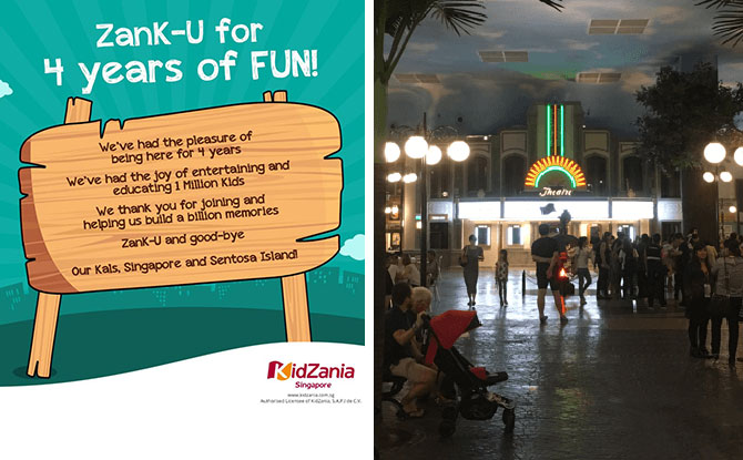 KidZania Singapore Not Reopening Doors, Says ZanK U for Four Years Of Love & Support