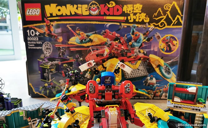LEGO Monkie Kid Drone-Copter Review
