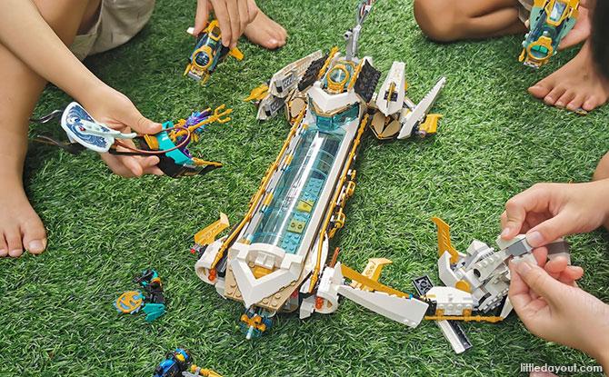 Back Story of LEGO NINJAGO Hydro Bounty