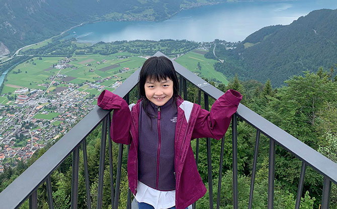 Visiting Switzerland on a Family Holiday