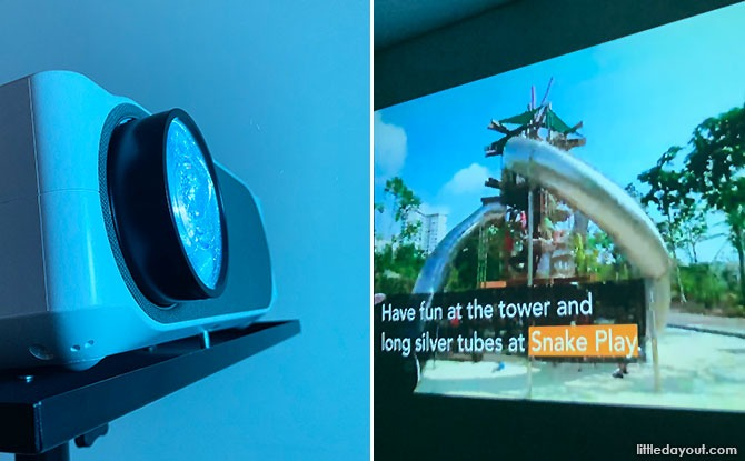 LUMOS Auro Projector Review: Affordable, All-In-One Projector With Built-In YouTube And Netflix