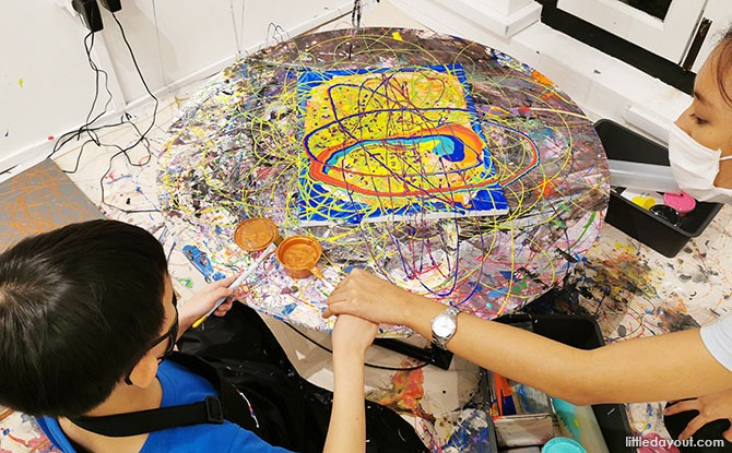 Motion Art Space – Where Art is Easy with the Help of Science
