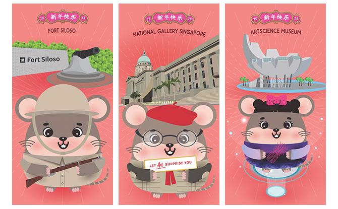 Museum Roundtable Year of the Rat 2020 Red Packets