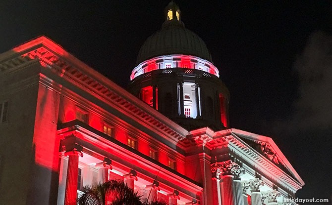 Civic District Light Up for National Day 2020