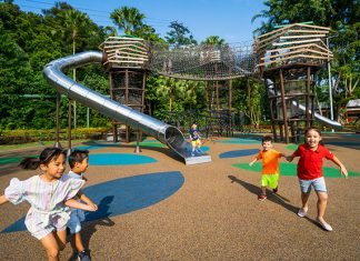 Nestopia, Sentosa: Open-Air Playground For Outdoor Fun At Siloso Beach