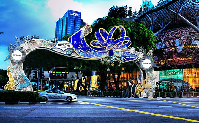 Orchard Road Christmas Light Up 2020: Spread The Love