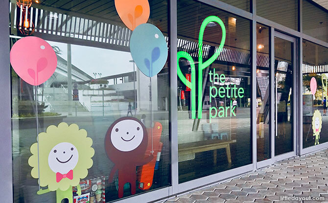 The Petite Park: Indoor Playground at Kallang Wave Mall