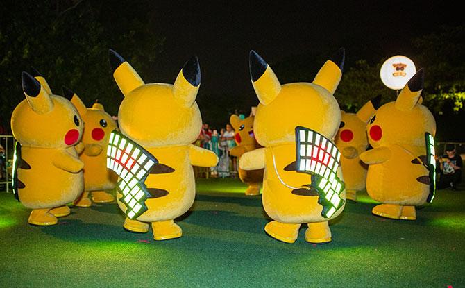 Catch A Pikachu Parade At Pokémon GO Safari Zone Sentosa - Little