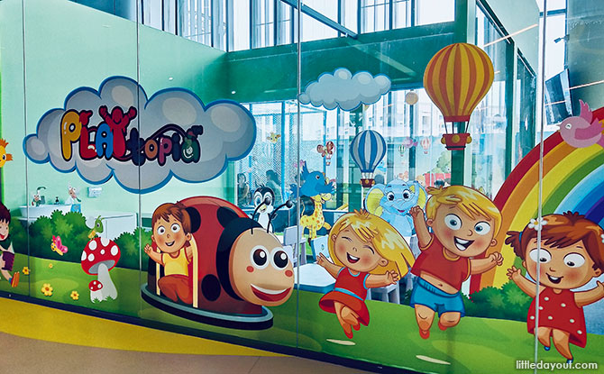 Playtopia indoor playground, Our Tampines Hub, Library with a Playground Inside