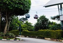 Singapore Cable Car: Flying Around Sentosa