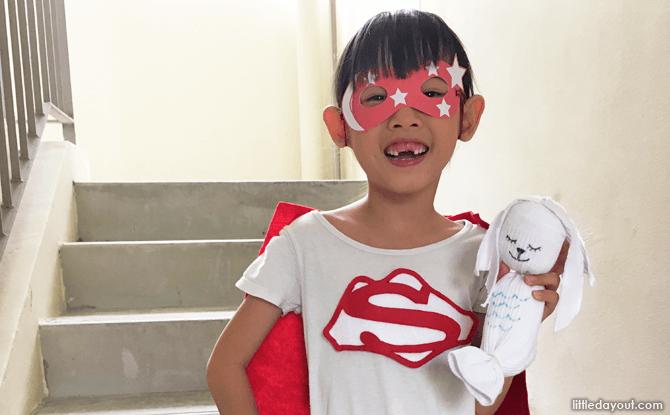 National Day Craft: Super Singaporean