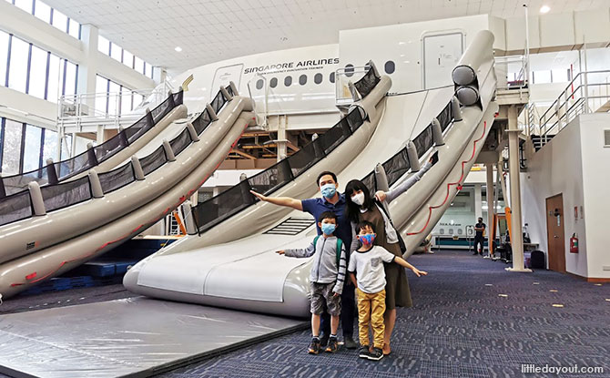 Inside Singapore Airlines: Touring the SIA Training Centre And Junior Pilot Experience
