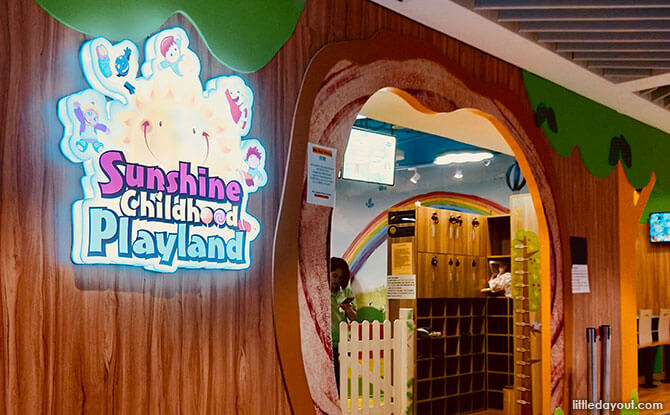 Sunshine Childhood Playland: Indoor Playground In Yishun