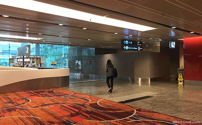 Changi airport counter