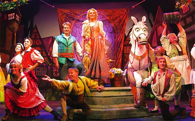 Watch Tangled The Musical For Free And Download An Activity Kit Little Day Out
