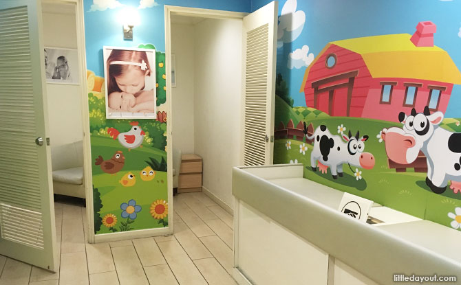 Tanglin Mall Nursing Room