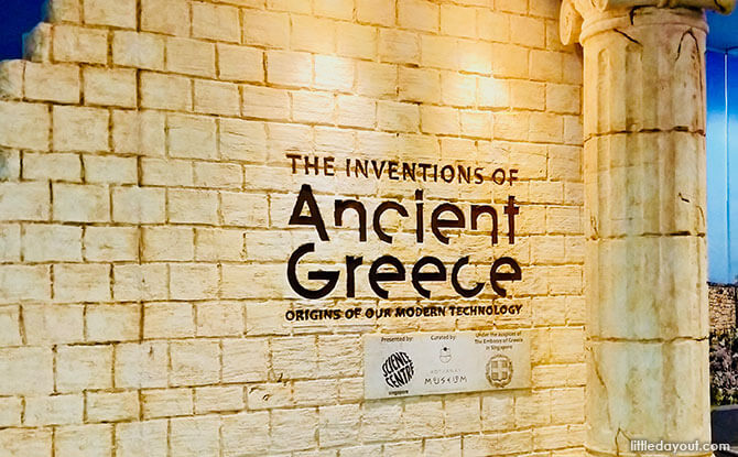 The Inventions of Ancient Greece: Origins of our Modern Technology at Science Centre Singapore: Field Trip Back In Time