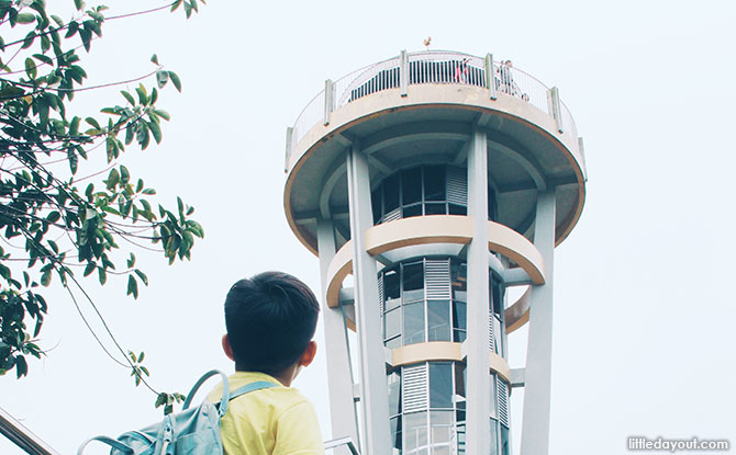 Out Of This World At Upper Seletar Reservoir Park's Rocket Tower