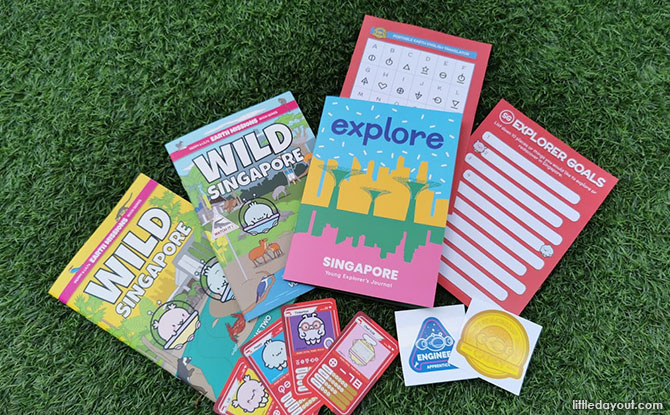 Parent Review: Wild Singapore Comic Activity Book – Peppy & Lili's Earth Missions