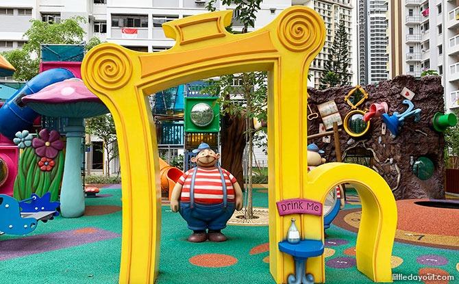 Alice in Wonderland Playground at Dawson Vista