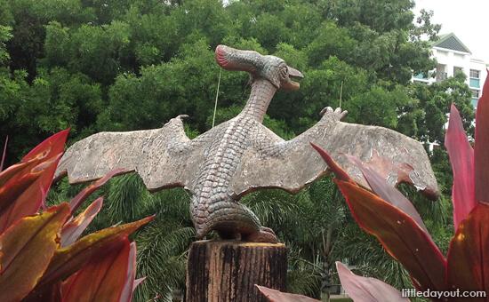 Fu Lu Garden - Dinosaurs Around Singapore