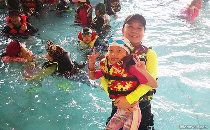Family fun at One Mount, Korea