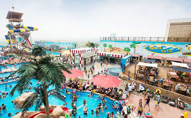 Onemount, South Korea: Good Times At The Water Park And Snow Park