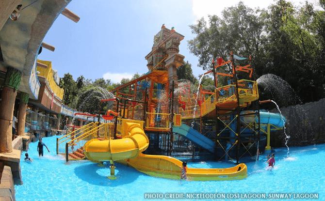 SpongeBob Splash Adventure-at-Nickelodeon Lost Lagoon Sunway Lagoon