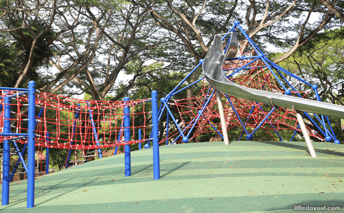 Pasir Ris Park Playground Rediscovered - Climbing Structure