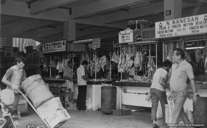 Former Tekka Market