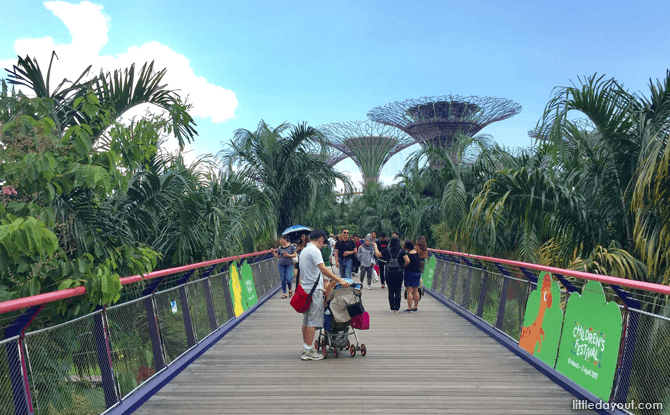 Gardens by the Bay's Dragonfly Bridge