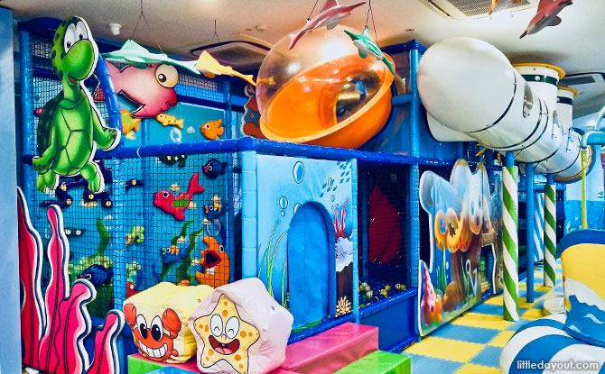 Aquarius Cove, an ocean-themed indoor playground