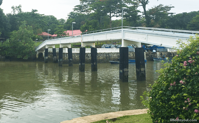 Bridge to Changi Beach Park