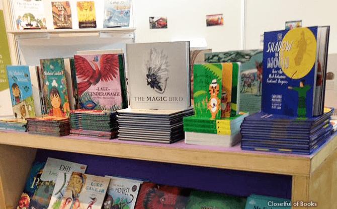 Closetful of Books, Books for Kids