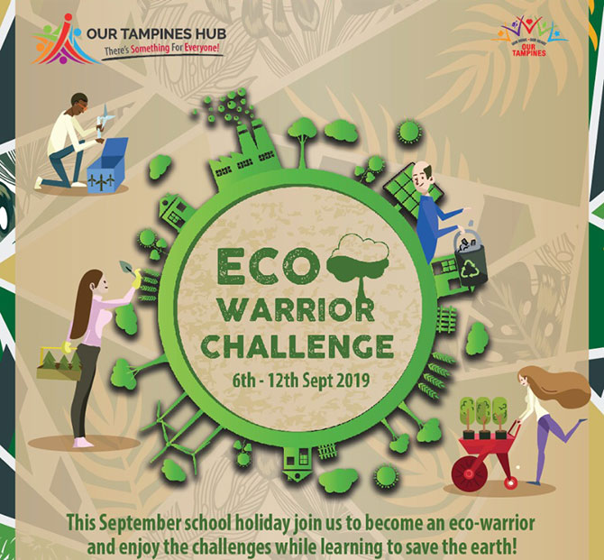 Eco-Warrior Challenge at Our Tampines Hub