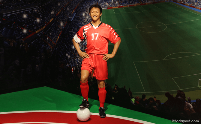 Fandi Ahmad Wax Statue at Madame Tussauds Singapore
