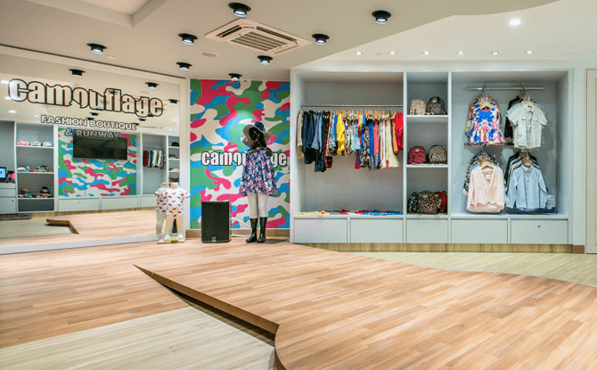 Fashion Boutique at KidZania Singapore