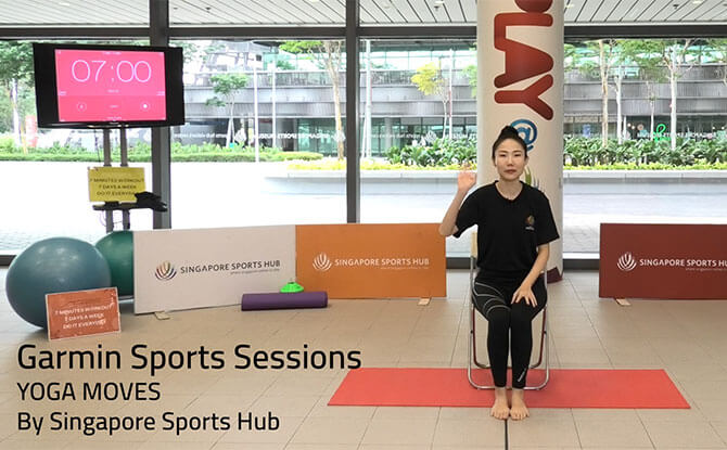 Experiencing the Singapore Sports Hub 7-Minute Workout Online