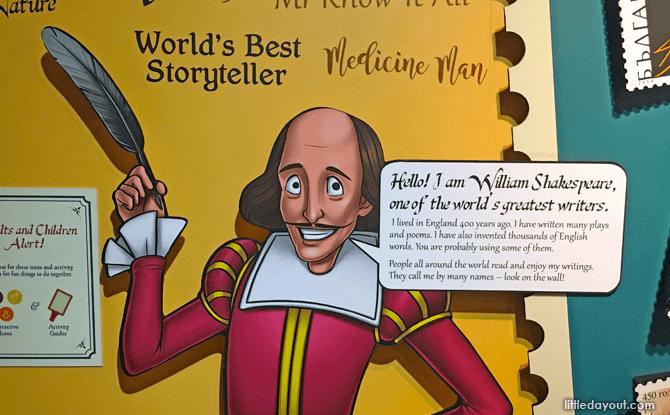 Shaking It With Shakespeare Philatelic Museum