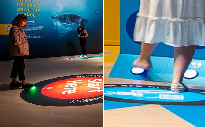 ArtScience Museum's Latest Exhibition Has An Interactive Space Where You Use Your Feet
