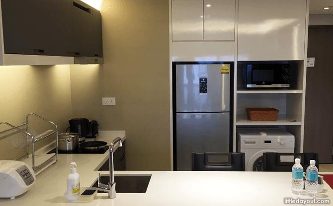 Kitchenette, Oasia Residence