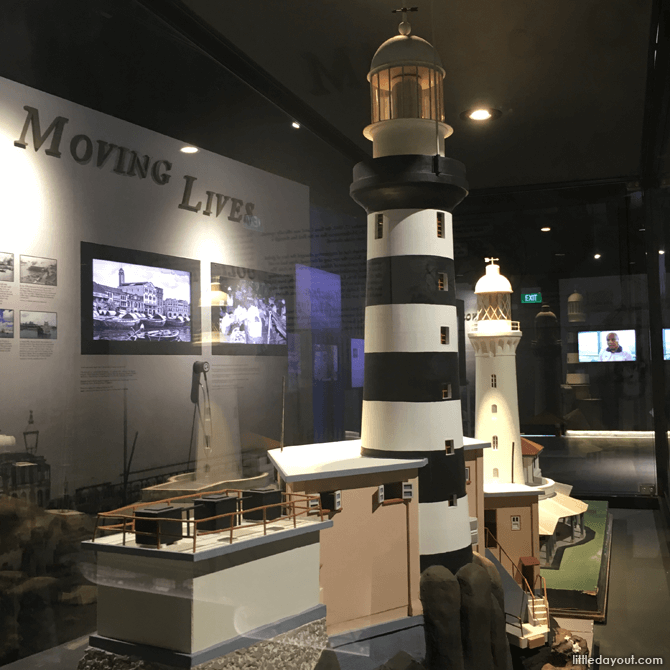 Lighthouse Models at Singapore Maritime Gallery