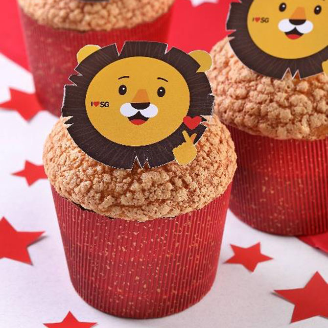 PrimaDeli Lion Bread - National Day 2020