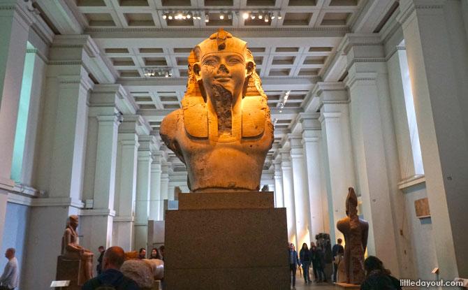 Exhibits at the British Museum