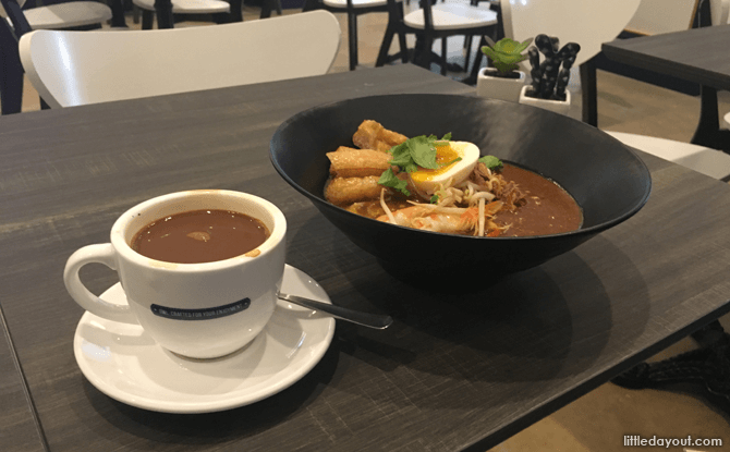 Mee Rebus at Courtyard Cafe, National Gallery Singapore